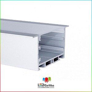 Perfil de Embutir para Led em Alumínio EKPF52