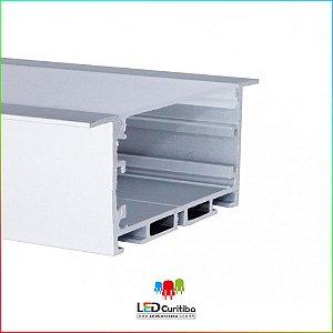Perfil de Embutir para Led em Alumínio EKPF53