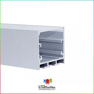 Perfil de Sobrepor- Pendente para Led em Alumínio EKPF61
