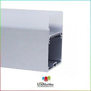 Perfil de Sobrepor-Pendente para LED em Alumínio EKPF72