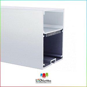 Perfil de Sobrepor-Pendente para Led em Alumínio EKPF74
