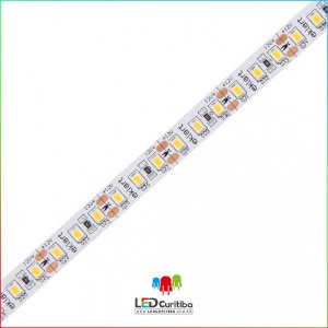 Fita LED 10W/m 2835 120Leds/m – IP20 Interno 12v 1000 Lúmens