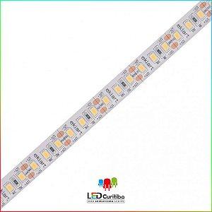 Fita LED 10W/m 2835 120Leds/m – IP68 Interno/Externo 12v 1000 Lúmens