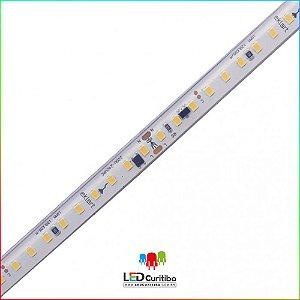 Fita LED 15W/m 2835 120Leds/m IP65 Interno/eXTERNO 127V/220V 1200 Lúmens