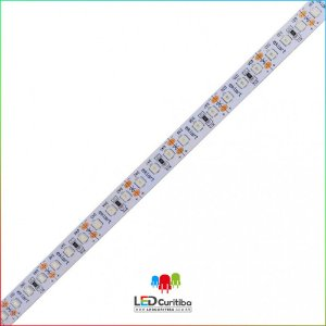 Fita LED 2835 10W Azul 120Leds/m - IP20 Interno 12v - Azul