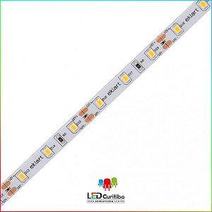 Fita LED 5W/m 2835 60Leds/m – IP65 Interno/Externo 12v - 500 Lúmens