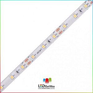 Fita LED 5W/m 2835 60Leds/m – IP68 Interno/Externo 12v - 500 Lúmens