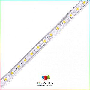 Fita LED Plug&Play 15W/m 5730 60Leds/m – IP66  Interno/Externo 220v 1400 Lumens
