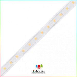 Fita LED PRIME Plug&Play 4,5W/m 2835 60Leds/m IP65 Interno/Externo 127v 200 Lúmens