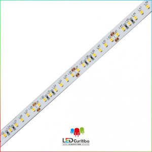 "Fita LED ""Plus"" 26W/m 2835 126Leds/m – IP20 Interno 24v 2300 Lúmens"