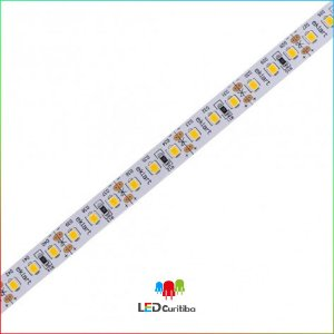 Fita LED 2835 10W Ambar 120Leds/m - IP20 Interno 12v - Ambar