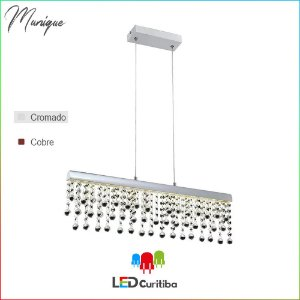 Pendente Munique LED 12W-840lm-4000K