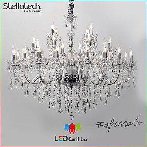 LUSTRE PENDENTE STELLA REFINNATO Translucido Stella SD9810-28 (119cm) -  1190x940x100 (mm)