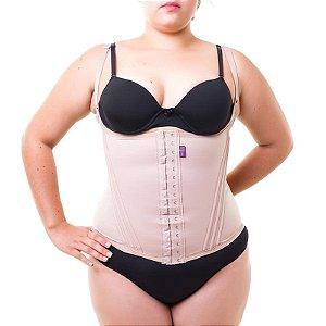d4856d9c9 Cinta modeladora feminina com alça - Bege - Plus Size