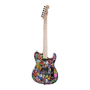 Guitarra Tele Tagima Custom Colors Marcinho Eiras