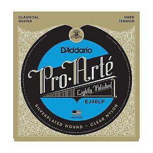 Encordoamento Violão D'Addario EJ 46 LP Tensão Alta