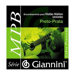 Encordoamento Giannini Violão Medio genw Bs