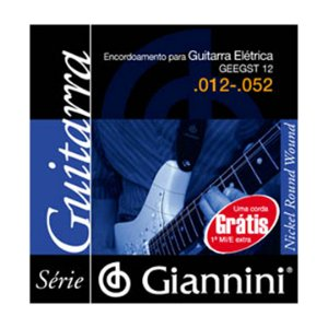 Encordoamento Giannini Guit 0.12 Geegst12