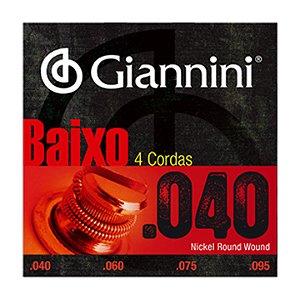 Encordoamento Giannini C Baixo 4c 0.40 Geebrl