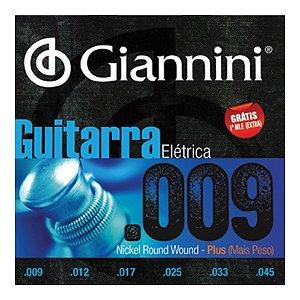 Encordoamento Giannini Guit 0.09 Geegst9 Plus