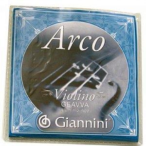 Encordoamento Giannini Violino Medio Geavva