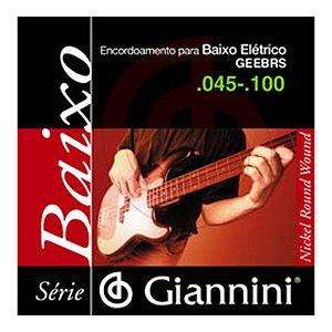 Encordoamento Giannini C Baixo 4c 0.45 Geebrs
