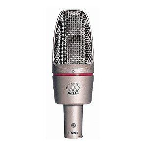 Microfone com fio Estúdio AKG C3000 B