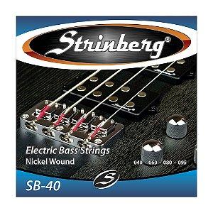 Encordoamento Strinberg C Baixo 4c 0.40 Sb 40