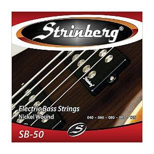 Encordoamento Strinberg C Baixo 5c 0.40 Sb 50