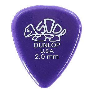 Palheta Dunlop Delrin 500 Std 2,0 Mm