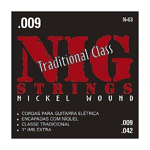 Encordoamento Nig Guit 0.09 N-63