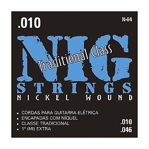 Encordoamento Nig Guit 0.10 N-64