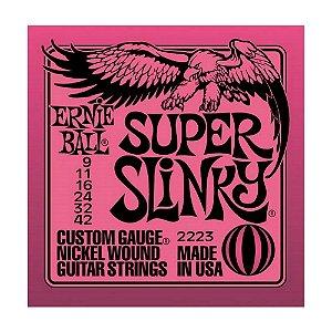 Encordoamento Guitarra Ernie Ball 0,09 2223