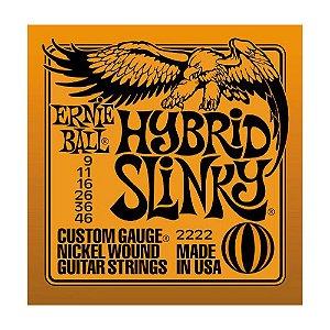 Encordoamento Guitarra Ernie Ball 0,09 2222