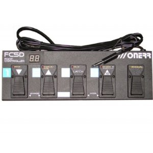 Foot Switch Onerr Fc5 D P/ Ampli G100 E