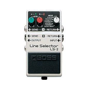 Pedal Guitarra Boss Line Selector LS 2