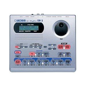 Bateria Eletrônica Boss DR 3 Sem Fonte