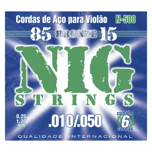 Encordoamento Nig Violão 0.10 N 500