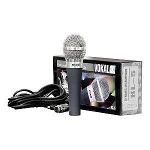 Microfone Mão Vokal KL 5