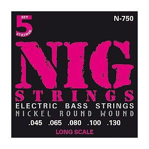 Encordoamento Nig C Baixo 0.45 5c N-750