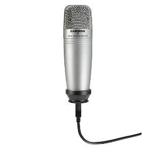 Microfone Estúdio Samson C 01 UPK USB