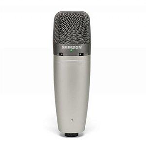 Microfone Samson Estudio C 03u Usb