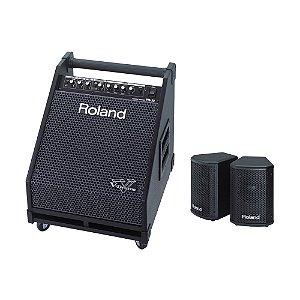 Combo Bateria Eletrônica Roland PM 30