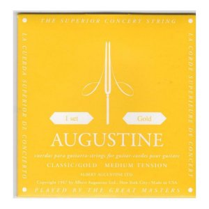 Encordoamento Augustine Violão Gold