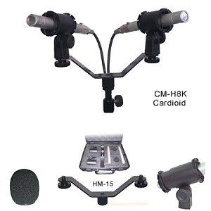 Microfone Superlux Par Inst/coral/over Smk H8k