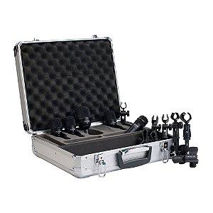 Kit Microfone Percussão Audix FP 5
