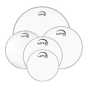 "Kit Pele Transparente 10""/12""/14""/20""/14"" Evans Uno Fusion G2 UPG2 CLF 20"
