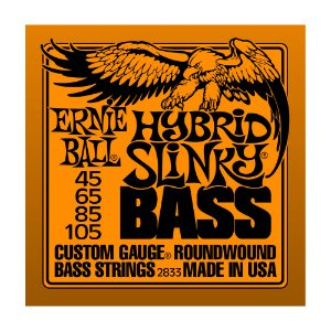 Kit 10 Encordoamentos Ernie Ball Contra Baixo 4C 0.45 2833