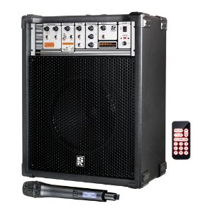 Caixa Acústica Multiuso Staner Onyx 612 USB com Microfone sem fio