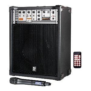 Caixa Acústica Multiuso Staner Onyx 815 USB com Microfone sem fio
